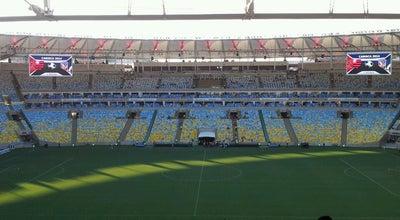 Photo of Soccer Stadium Estádio Jornalista Mário Filho (Maracanã) at R. Prof. Eurico Rabelo, S/n, Rio de Janeiro, RJ 20271-110, Brazil