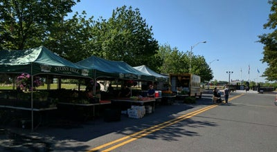 Photo of Farmers Market Stony Hill Gardens Farmer's Market at Sussex Street, Jersey City, NJ, United States