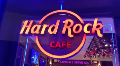 Photo of American Restaurant Hard Rock Cafe Ibiza at Passeig Vara De Rey 1, Eivissa 07800, Spain