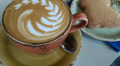 Photo of Coffee Shop Harris + Hoole at 215 Townmead Rd, Fulham SW6 2TW, United Kingdom