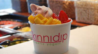 Photo of Ice Cream Shop Skinnidip Frozen Yogurt at 2230 W Burnside St, Portland, OR 97210, United States