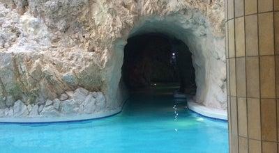Photo of Beach Miskolc barlang fürdő at Miskolc Tapolca, Hungary