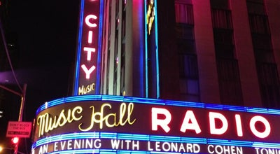 Photo of Theater Radio City Music Hall at 1260 Avenue Of The Americas, New York, NY 10020, United States