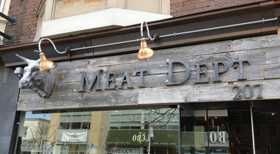Photo of Butcher The Meat Department at 207 Danforth Ave, Toronto, On M4k, Toronto, On M4K, Canada