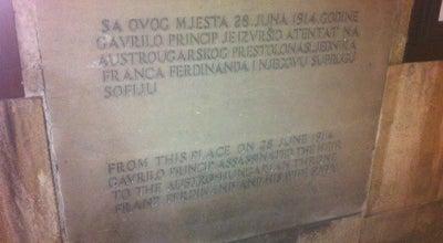 Photo of Historic Site Assassination of Archduke Franz Ferdinand of Austria at Ulica Zelenih Beretki, 1, Sarajevo, Bosnia and Herzegovina