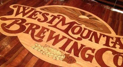 Photo of Brewery West Mountain Brewing Company at 21 W Mountain St, Fayetteville, AR 72701, United States