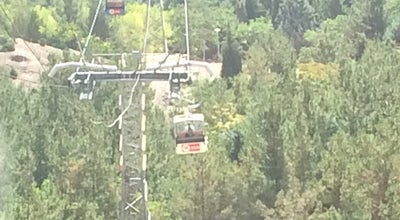 Photo of Trail Soffeh Chairlift | تله كابين صفه at Sofeh Park, Isfahan, Iran
