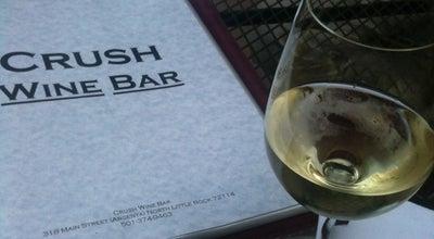 Photo of Wine Bar Crush Wine Bar at 318 Main St, North Little Rock, AR 72114, United States