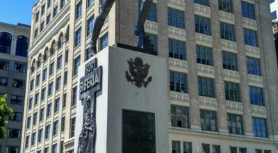 Photo of Monument / Landmark Katyn Statue at Exchange Place, Jersey City, NJ 07302, United States