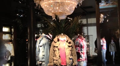 Photo of Clothing Store Abercrombie & Fitch at Leidsestraat 32-34, Amsterdam 1017 PB, Netherlands