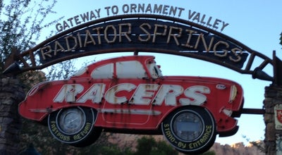 Photo of Theme Park Ride / Attraction Radiator Springs Racers at Cars Land, Anaheim, CA 92802, United States