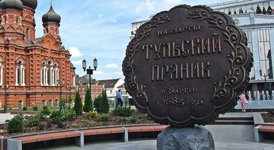 Photo of Outdoor Sculpture Памятник прянику at Ленина Просп., 63б, Tula, Russia