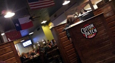 Photo of New American Restaurant Cotton Patch at 3201 Lawrence Road, Wichita, TX 76308, United States
