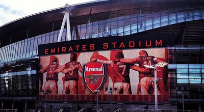 Photo of Soccer Stadium Emirates Stadium at 75 Drayton Pk, Highbury N5 1BU, United Kingdom