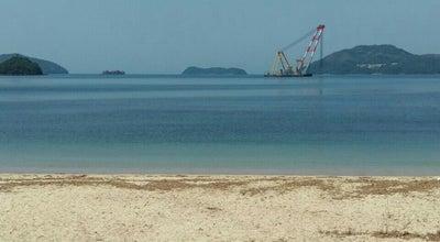 Photo of Beach はなぐり海水浴場 at 笠戸島, 下松市 744-0001, Japan