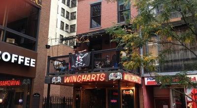 Photo of Burger Joint Wingharts Burger And Whiskey Bar at 5 Market Sq, Pittsburgh, PA 15222, United States