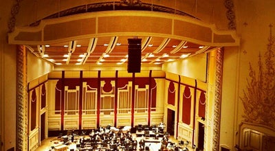 Photo of Concert Hall Heinz Hall at 600 Penn Ave, Pittsburgh, PA 15222, United States