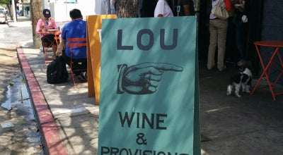 Photo of Wine Bar Lou Wine & Provisions at 720 N Virgil Ave, Los Angeles, CA 90029, United States