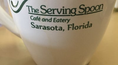 Photo of Breakfast Spot Serving Spoon at 1825 S Osprey Ave, Sarasota, FL 34239, United States