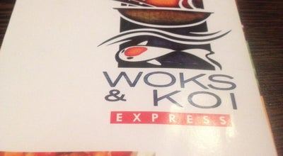 Photo of Chinese Restaurant Woks & Koi Express at 139 Adetokunbo Ademola Crescent, Opp Niit, Wuse Ii, Abuja, Nigeria