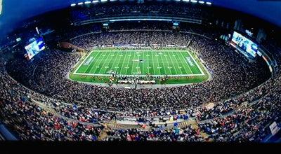 Photo of Football Stadium Gillette Stadium at 1 Patriot Pl, Foxborough, MA 02035, United States