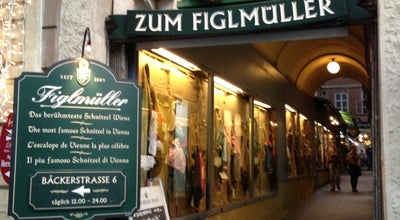 Photo of Austrian Restaurant Figlmüller at Wollzeile 5, Wien 1010, Austria