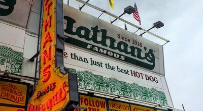 Photo of Fast Food Restaurant Nathan's at 1286 Broadway, New York, NY 10001