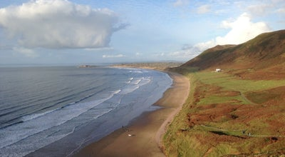 Photo of Beach Rhossili Bay at Rhossili Bay, Gower SA3, United Kingdom