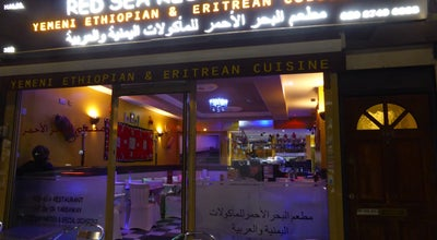 Photo of Middle Eastern Restaurant Red Sea Restaurant at 382 Uxbridge Rd, Sheperd's Bush,, London W12 7LL, United Kingdom