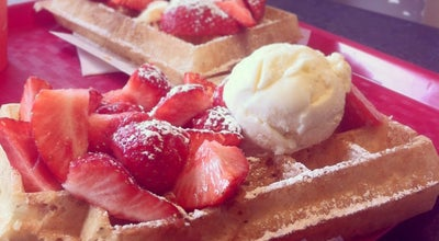 Photo of Dessert Shop Waffle Factory at Rue Du Lombardstraat 30, Brussels 1000, Belgium