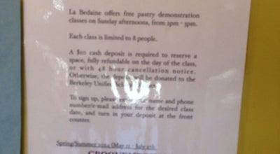 Photo of Bakery La Bedaine at 1585 Solano Ave, Berkeley, CA 94707, United States