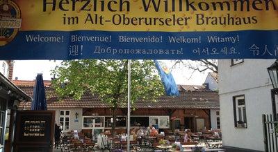 Photo of German Restaurant Alt Oberurseler Brauhaus at Ackergasse 13, Oberursel (Taunus) 61440, Germany