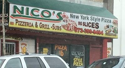 Photo of Pizza Place Nico's Pizzeria at 1038 S Orange Ave, Newark, NJ 07106, United States