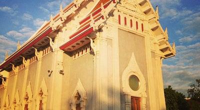 Photo of Buddhist Temple วัดชลประทานรังสฤษฎ์ (Wat Chonprathan Rangsarit) at 1 Tiwanon Rd, Pak Kret 11120, Thailand