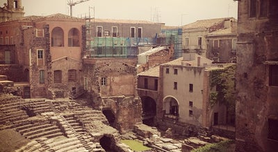 Photo of Historic Site Teatro Romano at Via Vittorio Emanuele, 266, Catania, Italy