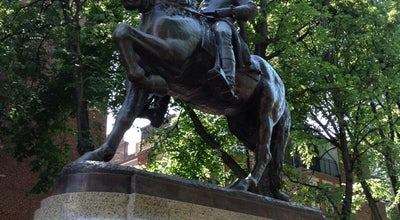 Photo of Outdoor Sculpture Paul Revere Statue at Hanover St, Boston, MA 02113, United States