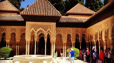 Photo of Historic Site Patio de los Leones at Palacios Nazaries, Granada 18009, Spain