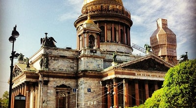 Photo of Church Исаакиевский собор / Saint Isaac's Cathedral at Исаакиевская Пл., 4, Санкт-Петербург 190000, Russia