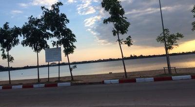 Photo of Lake ริมบึงหนองโคตร at 16.431188,102.805723, Khon Kaen, Thailand