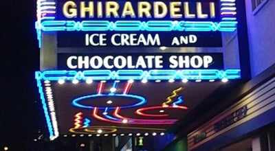 Photo of Dessert Shop Ghirardelli Ice Cream & Chocolate Shop at 643 5th Ave, San Diego, CA 92101, United States