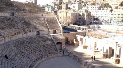 Photo of Historic Site المدرج الروماني at Downtown, Amman, Jordan