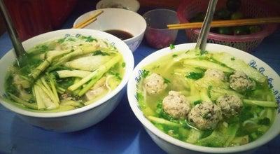 Photo of Ramen / Noodle House Bún dọc mùng Bát Đàn at 18 Bát Đàn, Hanoi, Vietnam