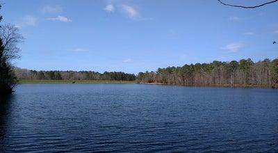 Photo of Trail Bond Park Lake Trail at Cary, NC, United States