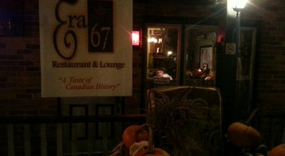 Photo of American Restaurant Era 67 at 64 Mississaga Street West, Orillia, On, Canada