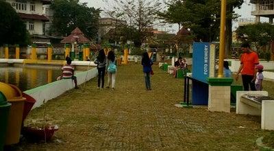 Photo of Park Taman Sri Deli at Jl. Mesjid Raya, Medan, Indonesia