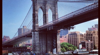 Photo of Tourist Attraction Brooklyn Bridge at Brooklyn Bridge, New York, NY 10038, United States