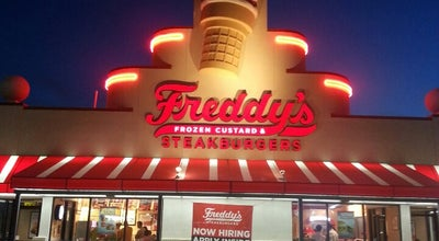 Photo of Ice Cream Shop Freddy's Frozen Custard & Steakburgers at 841 Loop 337, New Braunfels, TX 78130, United States