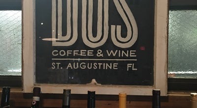Photo of Cafe Dos Coffee & Wine at 300 San Marco Ave, St Augustine, FL 32084, United States