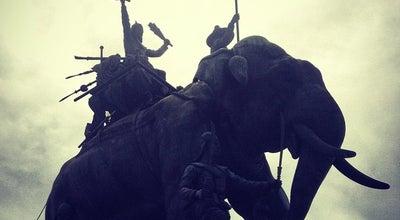 Photo of Monument / Landmark พระราชานุสาวรีย์สมเด็จพระศรีสุริโยทัย at ทุ่งมะขามหย่อง, อยุธยา 13000, Thailand