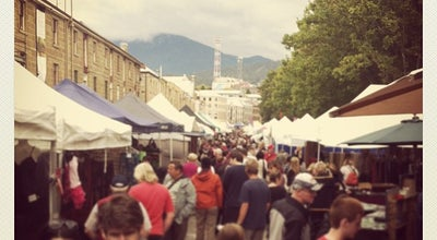 Photo of Market Salamanca Market at Salamanca Pl., Hobart, TA 7000, Australia